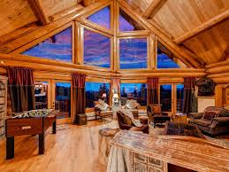 5500 sqft luxury log mountain home denver golden evergreen ski 6 bds hot tub