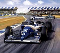 motor racing paintings posters on le mans michael turner