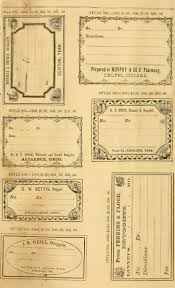 Free Printable Vintage Pharmacy Apothecary Labels The