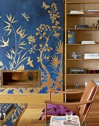 Wallpapered Living Rooms Transform Your Living Room With Statement Wallpaper The Room Edit
