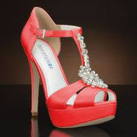 coral wedding shoes. Best Barn Wedding Ever Shoes Pinterest Coral wedding shoes