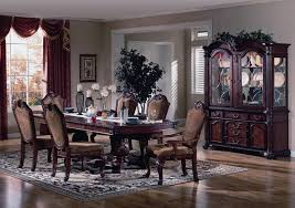 welmax furniture 2440 cherry formal dining room table chairs set throughout elegant dining room table chairs