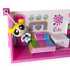 Powerpuff Girls Bedroom Amazoncom Powerpuff Girls Flip To Action Playset Toys Games