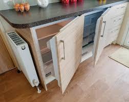 integrated under counter fridge freezer door