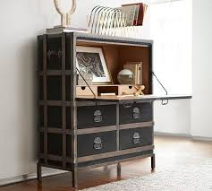 pottery barn home office furniture. pottery barn ludlow trunk secretary desk home office furniture sale