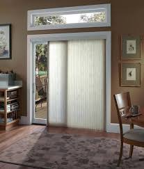 glass door coverings vertical cellular shades contemporary sliding glass door treatments