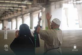 الحجاج يبدؤون رمي الجمرات الثلاث ثاني أيام التشريق : صحافة الجديد اخبار  عربية