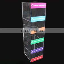 Mobile Phone Case Display Stand Extraordinary 32 Tier Cases Charger Counter Display Clear Acrylic Mobile Phone