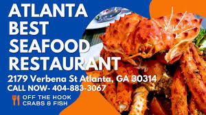 Atlanta seafood near me - YouTube