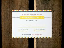 the 25 best modern wedding reply card ideas ideas on pinterest Wedding Invitations Reply Online sean tori's modern primary color wedding invitations Wedding Invitation Reply Wording
