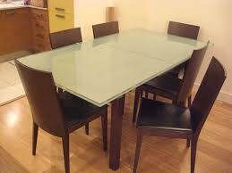 ways to frosted glass dining table