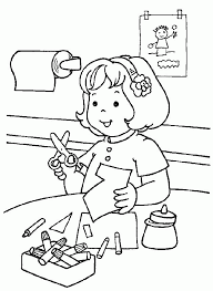It develops fine motor skills, thinking, and fantasy. Free Printable Kindergarten Coloring Pages For Kids Coloring Home