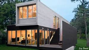 Storage Container Cabin In Almost Luxury Shipping Container Homes Youtube