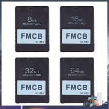 Thẻ Nhớ V1.953 Cho Sony Ps2 8mb / 16mb / 32mb / 64mb giá cạnh tranh