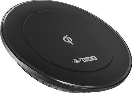 motorola 01095nartl. insignia™ - wireless charging pad black larger front motorola 01095nartl o