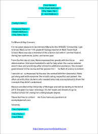 science teacher recommendation letter recommendation letter samples for scholarship pdf word