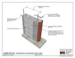 what is a door jamb. Masonry Detailing Series What Is A Door Jamb I