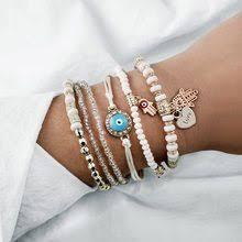 <b>5 PCS</b>/<b>Set</b> Sea <b>Turtle Heart</b> Map Charm Bracelets Set For Women ...