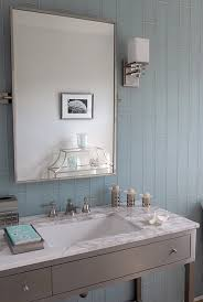 Gray and Blue Bathroom Ideas view full size