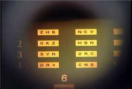Eye Chart Used At Dmv Eyes Vision Dmv Eye Vision Test