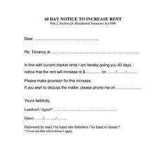 notice to owner form florida rent increase notice form rental letter rentotice 791 format mail