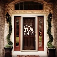Modern Letters for Front Door