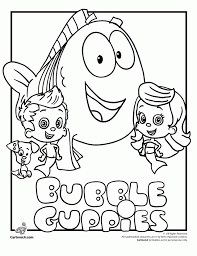 Small Picture Get This Printable Bubble Guppies Coloring Pages 237383