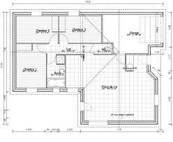 Plan De Maison 100m2 3 Chambres 14 Pied Plan Maison De Plain