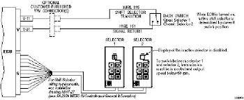 shift selector transition Allison Shifter Wiring Diagram w t e c i i i e l e c t r o n i c c o n t r o l s t r o u b l e s h o o t i n g allison shifter wiring diagram