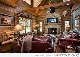 charming country western living room