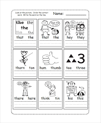 © contributed by leanne guenther. Free 7 Sample Phonics Worksheet Templates In Pdf