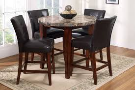 dining tables awesome pub dining table set round pub table marble round top table with