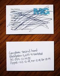Business Card Ideas News