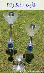 Diy Solar Light Diy Solar Lamp Made With An Old Lampstand Simply Southern Mom