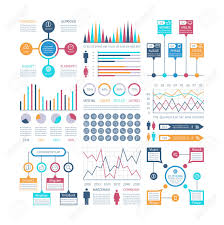 Presentation Charts And Graphs Free Infographics Template Financial Charts Trends Graph Population