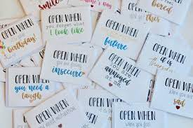 Check spelling or type a new query. Open When Letters Custom Card Going Away Present Boyfriend Etsy