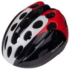 Купить <b>шлем</b> детский <b>Runbike</b> (красно-белый, овальные ...