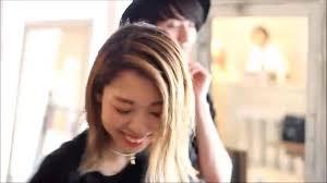 Minx2014女性美容師がつくるおしゃれな髪型ヘアスタイル撮影オフショット