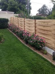 custom wood fences are tricky the tried and true solid shadow box and picket wood fences use proven installation techniques that guarantee a long lasting