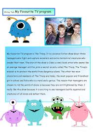 my favorite tv show essay  essays on my favourite tv show through essay