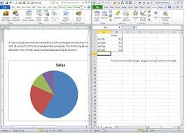 create a pie chart in excel add a pie chart to a word document without opening excel techrepublic