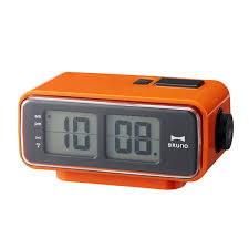 retro digital flip clock small