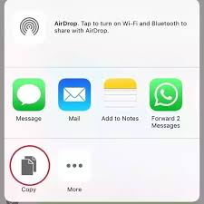 How To Copy Multiple Messages In Whatsapp Using An Iphone