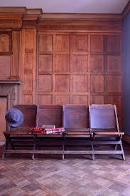 vintage wood theatre seats set of four folding wood stadium sea