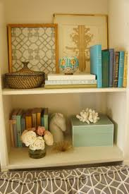 Bedroom Blue Book shelf decor idea Lovely bedroom I need to have this bed.