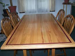 purple heart wood furniture. Dinningroom Table With Purple Heart Wood InlayNot Though, A Dark  Cherry Instead Furniture
