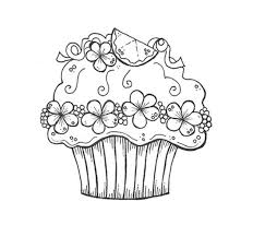 Free printable cupcake coloring pages for kids #2573193. Printable Cupcake Coloring Pages For Kids And For Adults Coloring Home