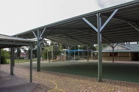 winthrop ps basketball court shade structure 002
