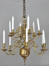 12 light dutch chandelier