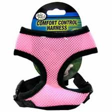 Four Paws Comfort Control Dog Harness X Small Pink